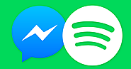 Facebook Messenger adds music, starting with Spotify song sharing