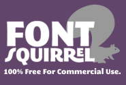 Handpicked free fonts for graphic designers with commercial-use licenses. | Font Squirrel