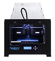 FlashForge 3d Printer Creator Pro, Metal Frame Structure, Acrylic Covers, Optimized Build Platform, Dual Extruder W/2...