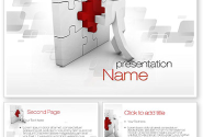 Building Puzzle PowerPoint Template