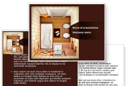 Plan Of Bathroom PowerPoint Template