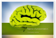 Cerebral Cortex PowerPoint Template