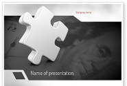 Business Effectiveness Puzzle PowerPoint Template