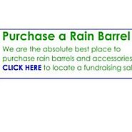 Want to Collect Rainwater in Painted Rain Barrels