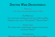 Are you a Whovian? Yahoovian? BooWhovian? The Bloggess wants to help. - Geek Eccentric