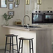 Style and Color of Howdens Kitchen worktops & splashbacks