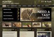 Hunter l Hunting WordPress Theme | Outfitters, Guides, Taxidermists