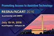 RESNA/ NCART 2016- July 10-14, 2016, Arlington VA