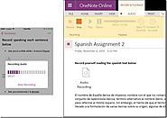 OneNote Updates – Embed video, record audio, insert files and more