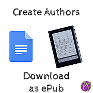Google Docs: Create Authors with ePub - Teacher Tech