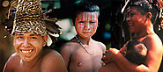 Astonishing pictures of one of the world's last uncontacted tribes