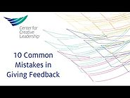 10 common mistakes in giving feedback