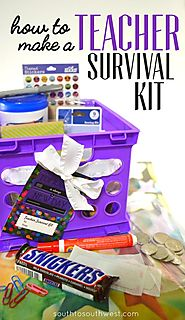 Making a Teacher Survival Kit
