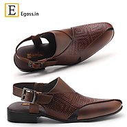 Leather Slippers for Men | Egoss Shoes