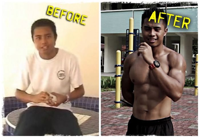 Best 10 Motivational Calisthenics Before and After Body Transformations