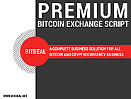 Stunning bitcoin exchange script and add-ons for bitcoin business people