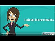 Leadership - MBA Admission Personal Interview Series