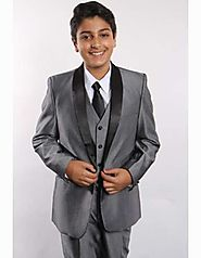 Give Your Son A Charming Look With Boys Wedding Suits