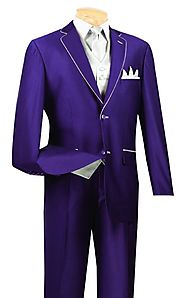 Get An Attractive And Decent Look With Purple Men's Suits