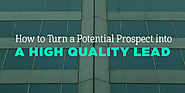 How to Turn a Potential Prospect into a High Quality Lead - Nusii: Proposal software for creative professionals.
