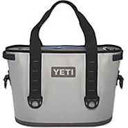 Yeti Coolers - Yeti Hopper Cooler 20 Fog Gray/Tahoe Blue by Yeti