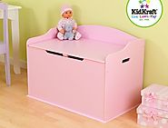 Pink Toy Chest | KidsDimension