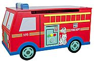 Fire Engine Toy Box | KidsDimension