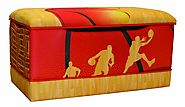 Basketball Toy Box | KidsDimension