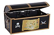 Treasure Chest Toy Box | KidsDimension
