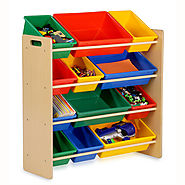 Kids Storage Organizer - 12 Bins