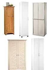 Best Free Standing Broom Closet Cabinet - Reviews (with images) · HomeItems