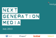 Next Generation Media Quarterly July 2013