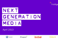 Next Generation Media Quarterly April 2013