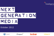 Next Generation Media Quarterly October 2012