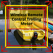Wireless Remote Control Trolling Motor • Fins Catcher