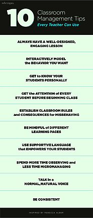 10 Classroom Management Tips Every Teacher Can Use