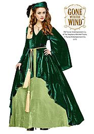 Women's Gone With The Wind Scarlet O'Hara Gown