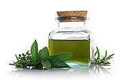 Sniff Peppermint Oil