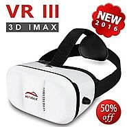 IMAX Movie Visor 3D Vr Virtual Reality Glasses Innovative Design Fit for iOS, Android & PC phones Series within 4...