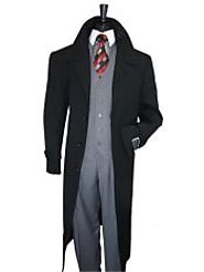 Enjoy The Soft Feel And Look Of Stylish Wool Overcoat For Men