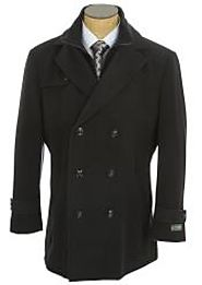 Create An Unforgettable Look With Mens Pea Coats