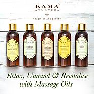 Buy Ayurvedic Massage Oils | Kama Ayurveda