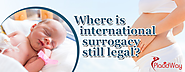 Where is international surrogacy still legal