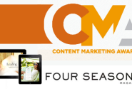 Four Seasons Magazine Wins Top Awards at Content Marketing Awards