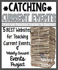 5 Websites for Incorporating Current Events in the Classroom! And a Freebie!