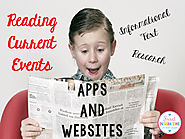 Reading Current Events - Apps and Websites for Reading the News