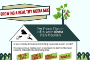 4 Tips to a Healthy Media Mix: INFOGRAPHIC