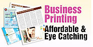 How can a business save on printing