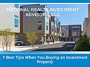 7 Tips When you Buying an Investment Property in U.S - NRIA, LLC