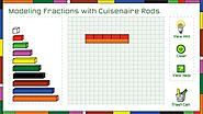 Modeling Fractions with Cuisenaire Rods